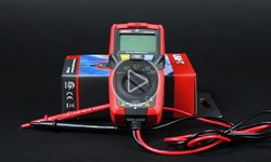 Видеообзор карманного цифрового мультиметра UNI-T UTM 1125C (UT125C)