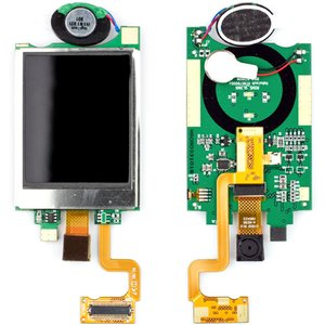 LCD for Fly SX305 Cell Phone, (with board, Original)