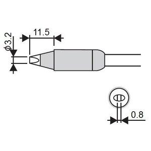 Soldering Iron Tip Goot RX-85HSRT-3.2D