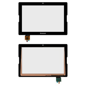 Touchscreen Lenovo IdeaTab A7600, (black) #MCF-101-1325-V3