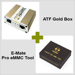 ATF Gold Box + E-Mate Pro eMMC Tool Combo Pack