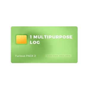 1 Multipurpose Log for Furious PACK 2