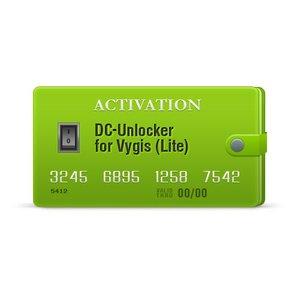 Activación DC-Unlocker para Vygis (Lite)