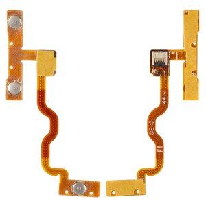 Cable flex para reproductores MP3 Apple iPod Touch 2G, iPod Touch 3G, del botón de volumen, del botón de encendido, con componentes