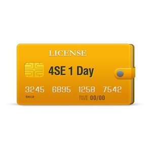 4SE licencia para 1 día