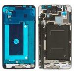 Рамка крепления дисплея Samsung N900 Note 3, N9000 Note 3, серая