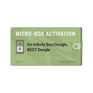 Активация Micro-Box для Infinity-Box/Dongle, BEST Dongle