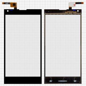 Сенсорный экран Doogee DG550, черный, #FPC55312A0-V2