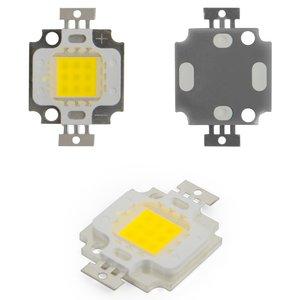 COB LED модуль 10 Вт (холодный белый, 1000 лм, 900 мА, 9-11 В)