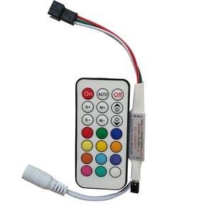 Контроллер с радиопультом LED2017-RF (RGB, WS2811, WS2812, WS2813, 5-24 В)