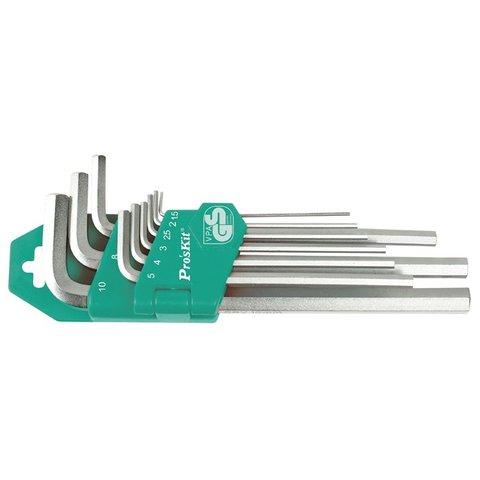 Набор шестигранных ключей Pro'sKit HW-129