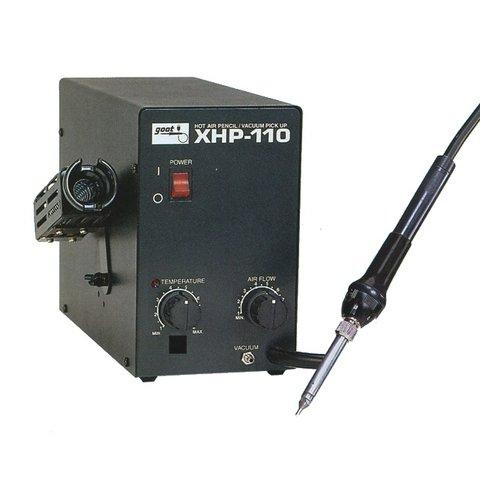 Термоповітряна паяльна станція з мікрофеном Goot XHP 110