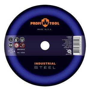 Круг відрізний по металу PROFITOOL INDUSTRIAL 230х2,5х22,2 мм
