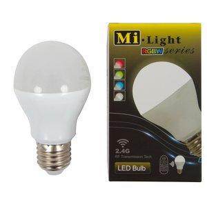 Світлодіодна лампочка MiLight RGBW 6W E27 WW (теплий білий)