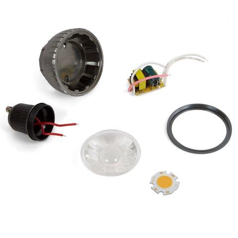 Комплект для збирання світлодіодної лампи TN A71 3 Вт теплий білий, GU10