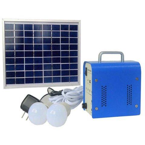 Портативна сонячна електростанція DC 5 Вт, 12 В 4 Аг, Poly 18 В 5 Вт