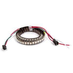 Світлодіодна стрічка RGB SMD5050, WS2812B (з управлінням, IP20, 144 діодів/м, 1 м)