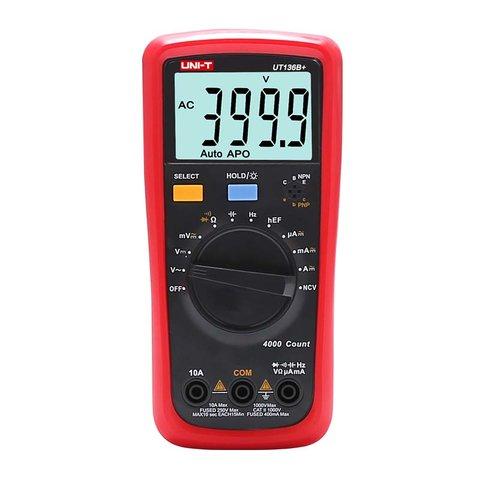 Цифровий мультиметр UNI T UTM 1136B+ UT136B+