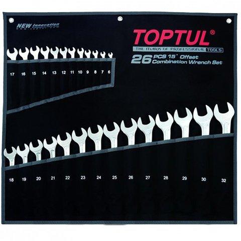Набір гайкових ключів TOPTUL GPAW2601