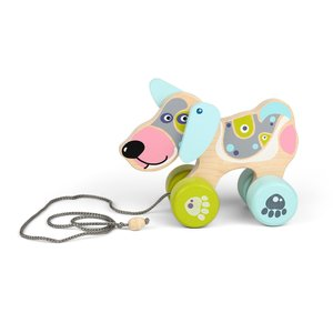 CUBIKA Pull-Along Dog LK-1