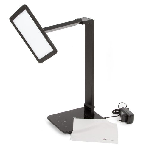 Dimmable Rotatable Shadeless LED Desk Lamp TaoTronics TT-DL09, Black, EU