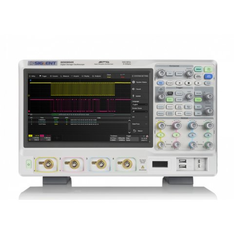 Super Phosphor Oscilloscope SIGLENT SDS5034X